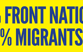 100% Front National, 0% migrants !