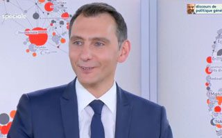 Laurent Jacobelli sur France Info TV