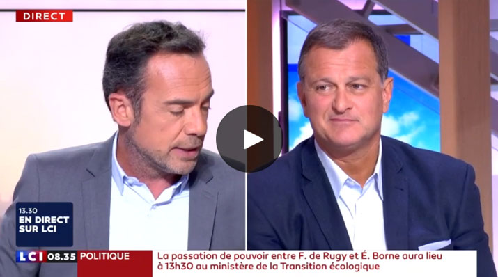 Louis Aliot sur LCI