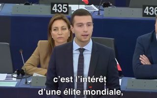 Intervention de Jordan Bardella sur la nomination de Christine Lagarde à la tête de la BCE
