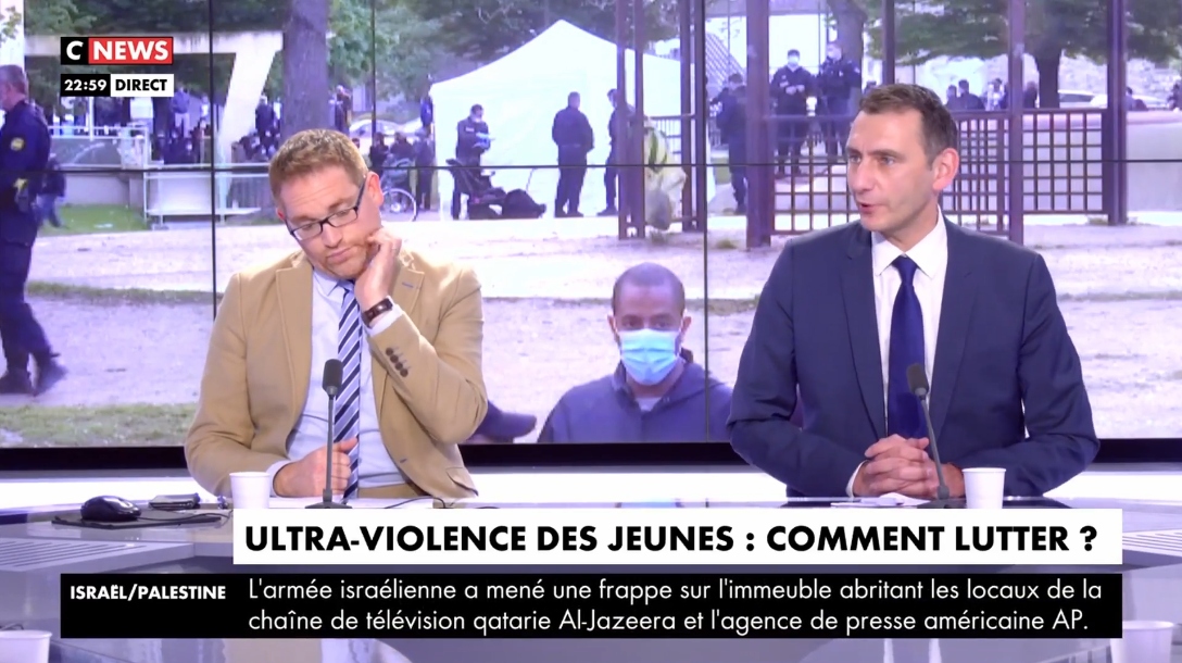 Laurent Jacobelli invité de CNews